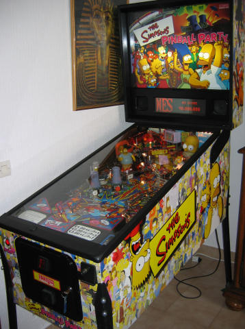 the simpsons pinball party. Black Bedroom Furniture Sets. Home Design Ideas